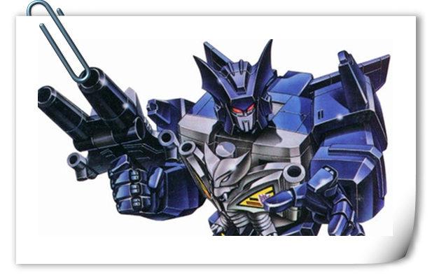 变形金刚G1系列人物介绍 蓝蝙蝠