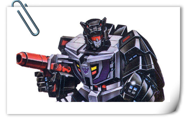 变形金刚G1系列人物介绍 黑豹