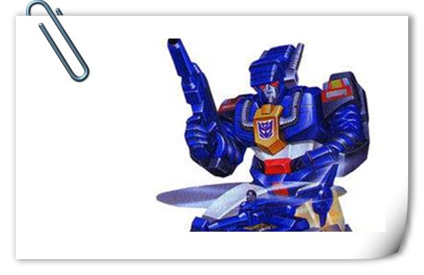 变形金刚G1系列人物介绍 巴克斯