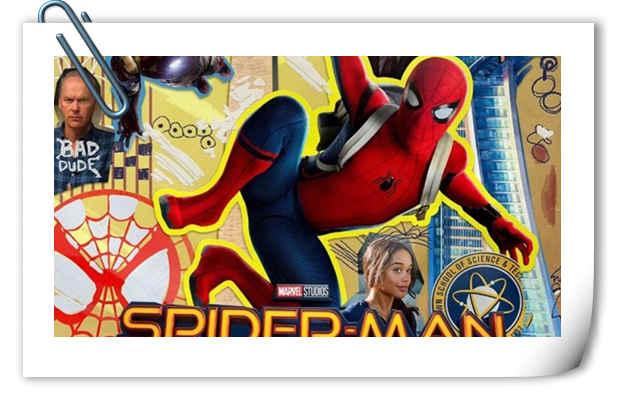 《蜘蛛侠:英雄归来》首曝剪画风IMAX海报 续集8月开始筹备!