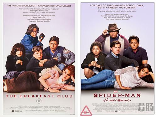 新《蜘蛛侠》特别海报再致敬经典 还有荷兰弟自曝侧躺新照一张! 动漫 第1张