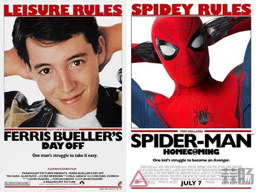 新《蜘蛛侠》特别海报再致敬经典 还有荷兰弟自曝侧躺新照一张! 动漫 第3张