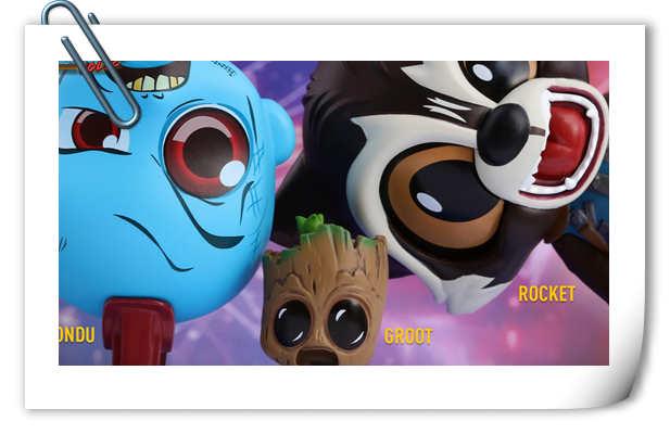 超可爱 HT新品Cosbaby系列《银河护卫队2》星级跳跃时变形人偶