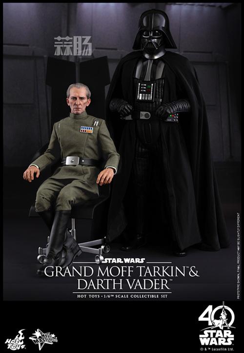 《星球大战IV:新希望》Grand Moff Tarkin 1:6比例珍藏人偶 模玩 第1张