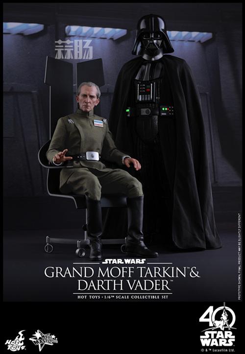 《星球大战IV:新希望》Grand Moff Tarkin 1:6比例珍藏人偶 模玩 第2张