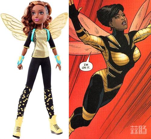 """搞事情?孩之宝状告DC漫画角色""""黄蜂"""" 存在商标侵权 动漫 第2张"""