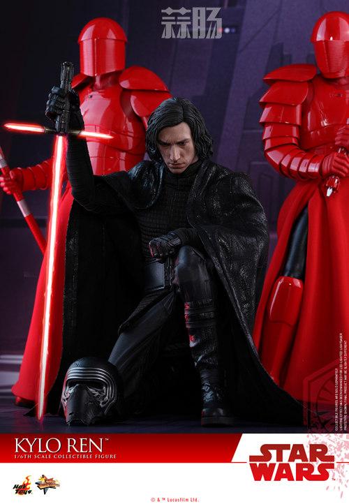 《星球大战:最后的绝地武士》Kylo Ren 1:6比例珍藏人偶 模玩 第3张