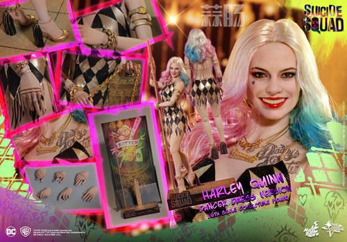 Hot Toys 《自杀特攻:超能暴队》小丑女 (金色舞衣版) 1:6比例珍藏人偶 模玩 第9张
