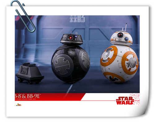 瞩目推出《星球大战:最后的绝地武士》BB-9E 及BB-8 1:6比例珍藏套装