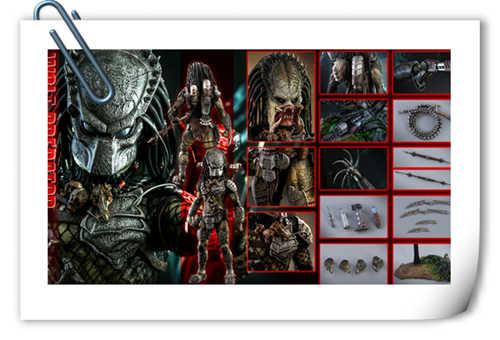《异兽战2》1:6比例Wolf Predator (重装版) 珍藏人偶