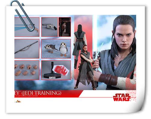《星球大战: 最后绝地武士》Rey (武士训练版) 1:6比例珍藏人偶