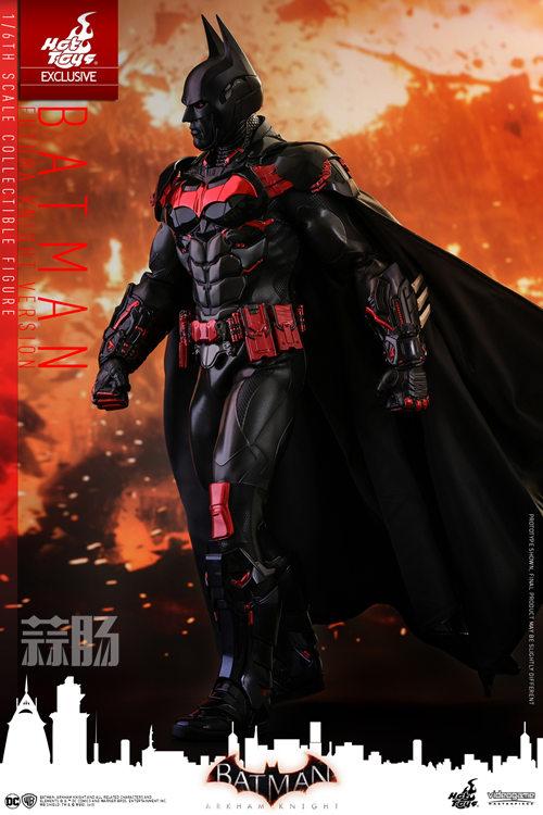 Hottoys新品:1/6 VGM29《蝙蝠侠:阿卡姆骑士》- Batman/蝙蝠侠(未来骑士限定版) 模玩 第2张