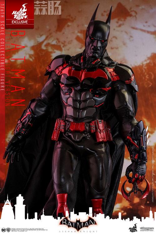 Hottoys新品:1/6 VGM29《蝙蝠侠:阿卡姆骑士》- Batman/蝙蝠侠(未来骑士限定版) 模玩 第3张
