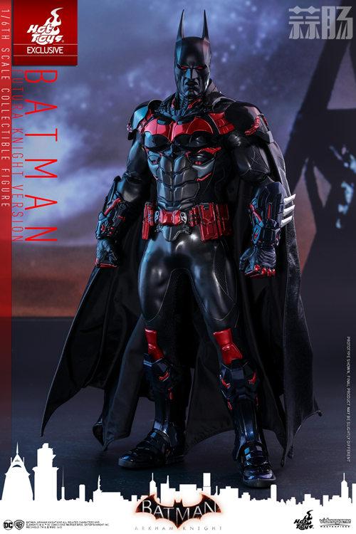 Hottoys新品:1/6 VGM29《蝙蝠侠:阿卡姆骑士》- Batman/蝙蝠侠(未来骑士限定版) 模玩 第4张