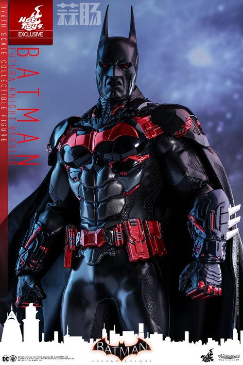 Hottoys新品:1/6 VGM29《蝙蝠侠:阿卡姆骑士》- Batman/蝙蝠侠(未来骑士限定版) 模玩 第5张