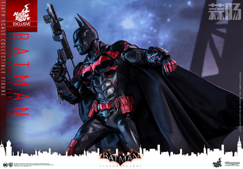 Hottoys新品:1/6 VGM29《蝙蝠侠:阿卡姆骑士》- Batman/蝙蝠侠(未来骑士限定版) 模玩 第6张