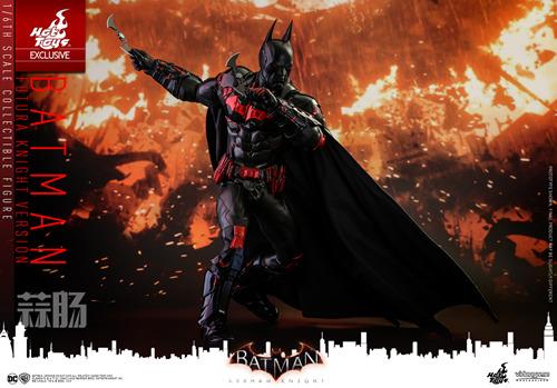 Hottoys新品:1/6 VGM29《蝙蝠侠:阿卡姆骑士》- Batman/蝙蝠侠(未来骑士限定版) 模玩 第9张