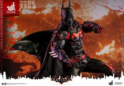 Hottoys新品:1/6 VGM29《蝙蝠侠:阿卡姆骑士》- Batman/蝙蝠侠(未来骑士限定版) 模玩 第10张