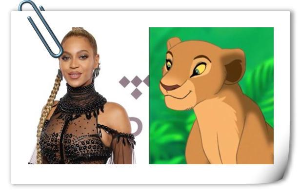 厉害了!Beyonce确定加盟迪士尼真人版《狮子王》!