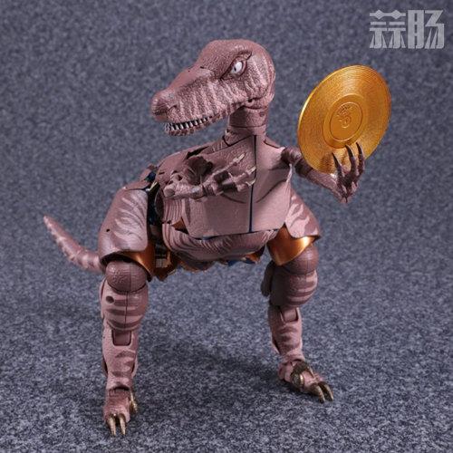 MP-41 恐龙勇士官图发布 售价260美元 变形金刚 第6张