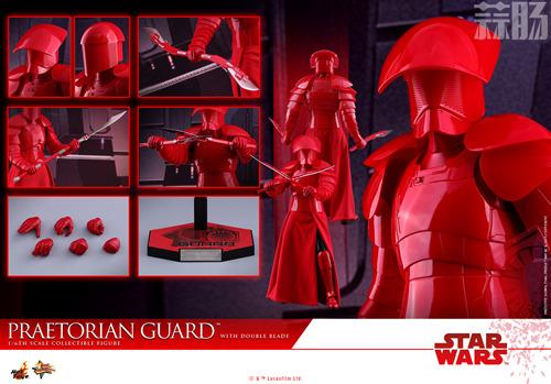 《星球大战:最后绝地武士》Praetorian Guard 1:6比例珍藏人偶 模玩 第6张