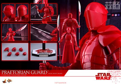 《星球大战:最后绝地武士》Praetorian Guard 1:6比例珍藏人偶 模玩 第11张