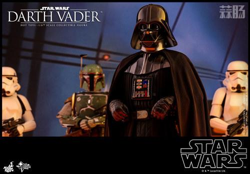 《星球大战V:帝国反击战》黑武士 1:6比例珍藏人偶 模玩 第2张