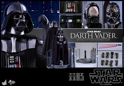 《星球大战V:帝国反击战》黑武士 1:6比例珍藏人偶 模玩 第7张