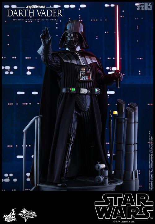 《星球大战V:帝国反击战》黑武士 1:6比例珍藏人偶 模玩 第5张