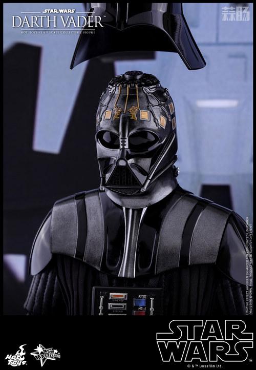 《星球大战V:帝国反击战》黑武士 1:6比例珍藏人偶 模玩 第6张