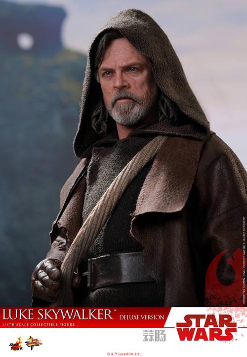 《星球大战: 最后绝地武士》Luke Skywalker 1:6比例珍藏人偶 模玩 第3张