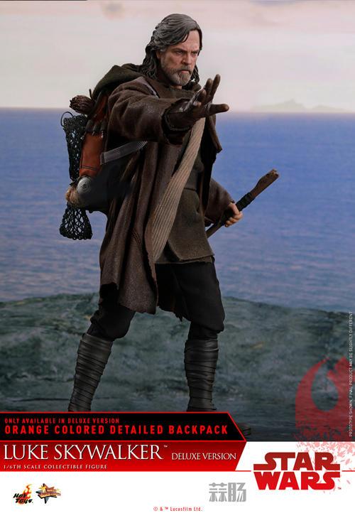 《星球大战: 最后绝地武士》Luke Skywalker 1:6比例珍藏人偶 模玩 第5张