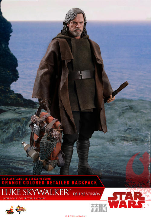 《星球大战: 最后绝地武士》Luke Skywalker 1:6比例珍藏人偶 模玩 第7张