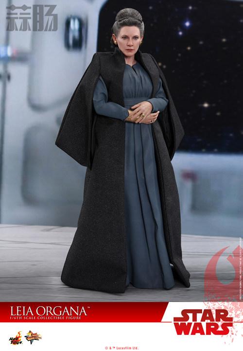 《星球大战:最后绝地武士》Leia Organa 1:6比例珍藏人偶 动漫 第2张