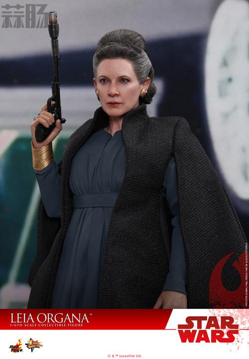 《星球大战:最后绝地武士》Leia Organa 1:6比例珍藏人偶 动漫 第3张
