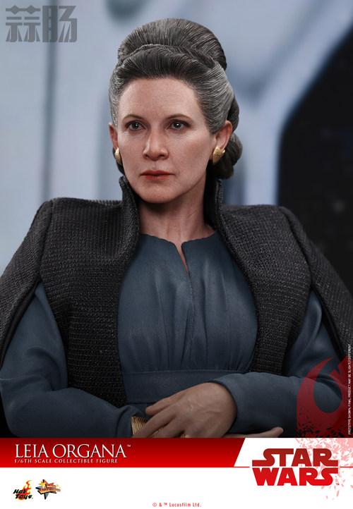 《星球大战:最后绝地武士》Leia Organa 1:6比例珍藏人偶 动漫 第4张