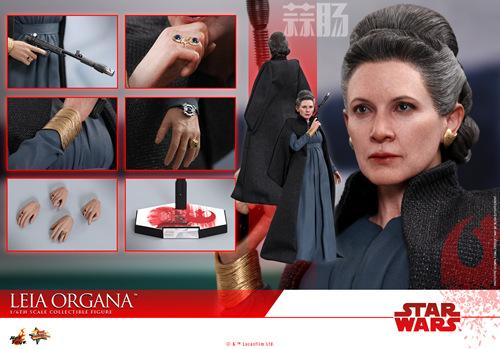 《星球大战:最后绝地武士》Leia Organa 1:6比例珍藏人偶 动漫 第10张
