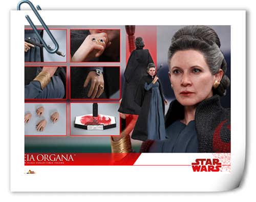 《星球大战:最后绝地武士》Leia Organa 1:6比例珍藏人偶