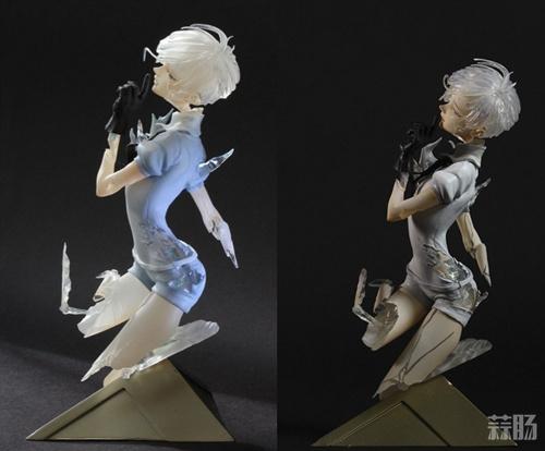 这手办非常扎心了 《宝石之国》南极石彩色原型公开! 模玩 第2张