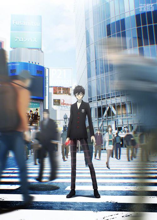 四月追番准备中!《女神异闻录5》坂本龙司角色视觉图&人设图公开! 动漫 第2张