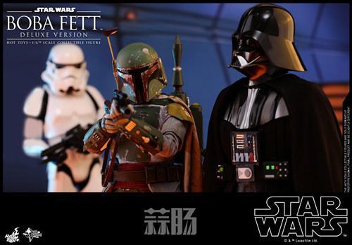 《星球大战V:帝国反击战》Boba Fett 1:6比例珍藏人偶 模玩 第1张