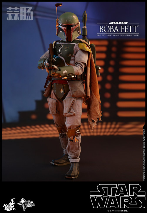 《星球大战V:帝国反击战》Boba Fett 1:6比例珍藏人偶 模玩 第2张