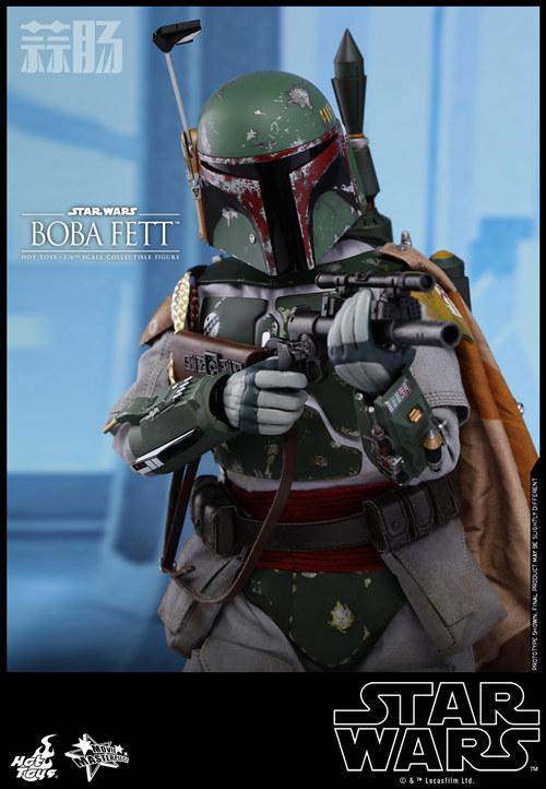 《星球大战V:帝国反击战》Boba Fett 1:6比例珍藏人偶 模玩 第4张