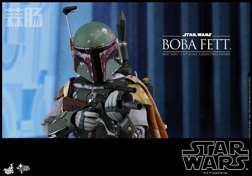 《星球大战V:帝国反击战》Boba Fett 1:6比例珍藏人偶 模玩 第6张