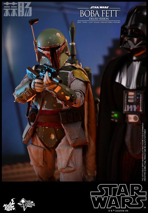 《星球大战V:帝国反击战》Boba Fett 1:6比例珍藏人偶 模玩 第12张