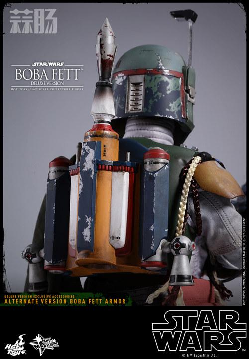 《星球大战V:帝国反击战》Boba Fett 1:6比例珍藏人偶 模玩 第13张