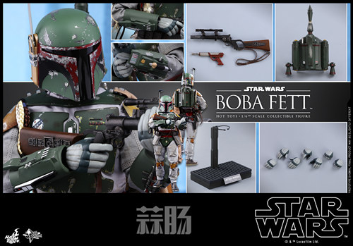 《星球大战V:帝国反击战》Boba Fett 1:6比例珍藏人偶 模玩 第14张