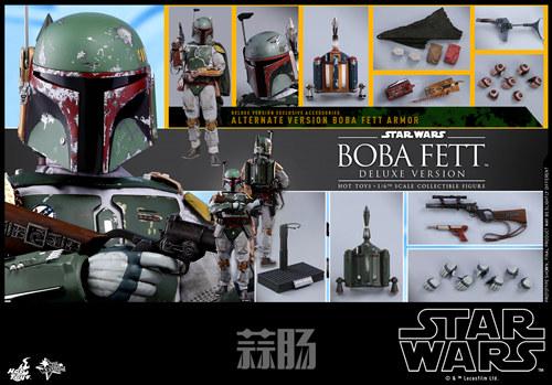《星球大战V:帝国反击战》Boba Fett 1:6比例珍藏人偶 模玩 第15张