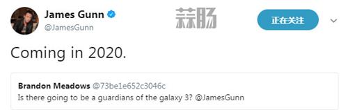 《银河护卫队3》确定2020年上映 众人期盼的勇度复活无望 詹姆士·昆恩 漫威 银河护卫队3 银河护卫队 勇度 动漫  第2张