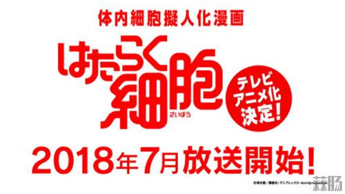 拟人动画来啦!《工作细胞》宣布TV动画化 七月开始放送! 动漫 第1张